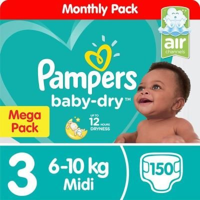 Pampers Active Baby Dry Midi (Size 3 | 150):