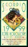 Total Horoscope 1999: Scorpio (Paperback): World Astrology