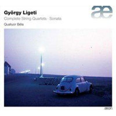 Quatuor Béla - Gyorgy Ligeti: Complete String Quartets/Sonata (CD): Gyorgy Ligeti, Quatuor Béla