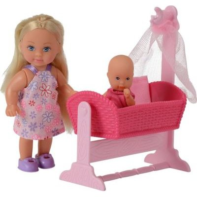 Evi Love Doll Cradle (2 Assorted) (Supplied Pack May Vary):