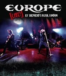 Europe: Live at Shepherd's Bush, London (Blu-ray disc): Europe