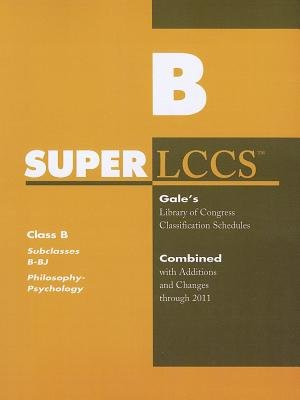 SUPERLCCS - Subclass B-BJ: Philosophy, Ethics (Paperback): Gale Cengage Learning