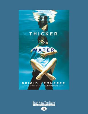Thicker Than Water (Large print, Paperback, Large type edition): Brigid Kemmerer