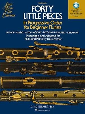 Forty Little Pieces (Book/Online Audio) (Paperback):