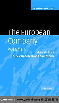 The European Company: Volume 1 (Electronic book text): Dirk Van Gerven, Paul M. Storm