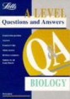 Level Questions and Answers: Biology (Paperback): Morton Jenkins