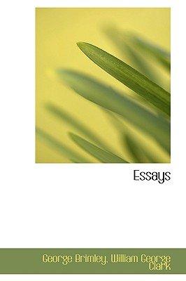 Essays (Hardcover): George Brimley