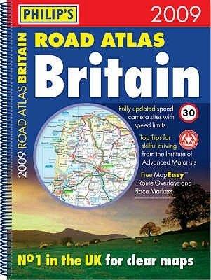 Philip's Road Atlas Britain 2009 (Spiral bound, Revised edition):