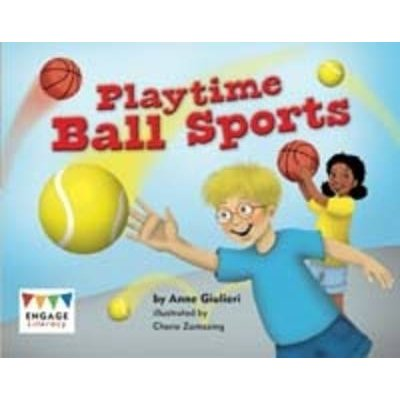 Playtime Ball Sports (Paperback): Anne Giulieri
