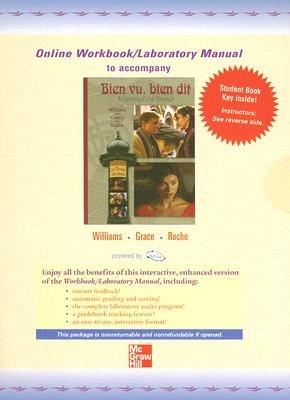 Bien Vu Bien Dit Quia Combined Online Workbook/Lab Manual (Mixed