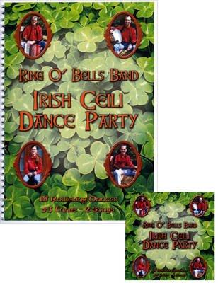 Irish Ceili Dance Party - 18 Rollicking Dances (Spiral bound): Derek Jones