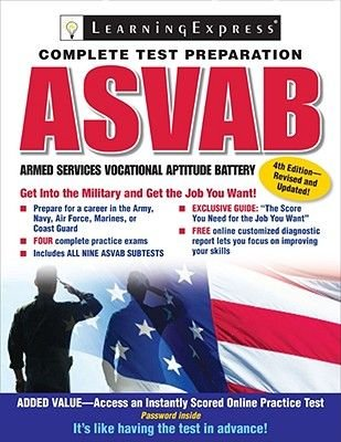 ASVAB - Armed Services Vocational Aptitude Battery (Paperback, 4th):