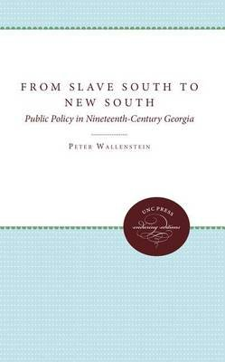 From Slave South to New South - Public Policy in Nineteenth-Century Georgia (Paperback): Peter Wallenstein