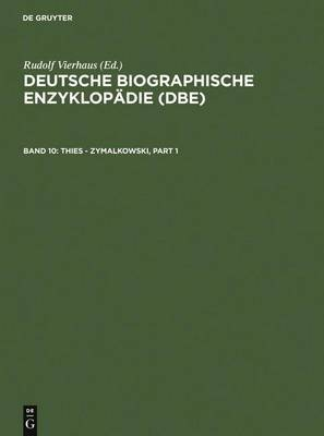 Thies - Zymalkowski (German, Electronic book text, Rev. and Enlarged ed.): Rudolf Vierhaus