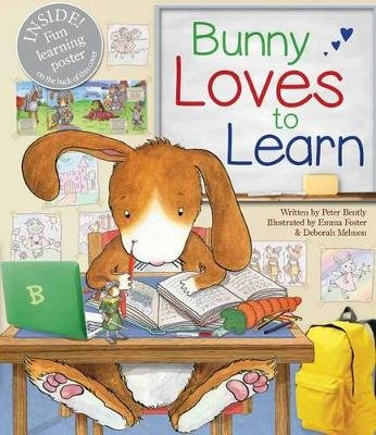 Bunny Loves to Learn (Hardcover): Peter Bently