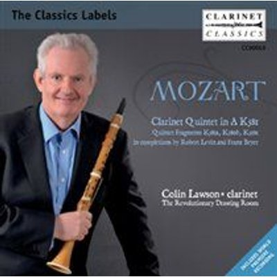 Various Artists - Mozart: Clarinet Quintet in A, K581/... (CD): Wolfgang Amadeus Mozart, Colin Lawson, Michael Harris, The...