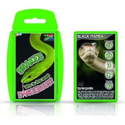 Top Trumps - Snakes: