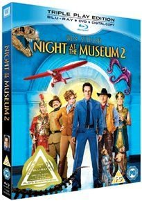 Night at the Museum 2 (English & Foreign language, Blu-ray disc): Amy Adams, Robin Williams, Ben Stiller, Owen Wilson, Jonah...