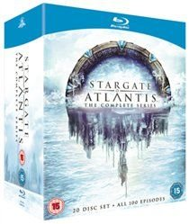 Stargate Atlantis: The Complete Seasons 1-5 (Blu-ray disc): Joe Flanigan, Torri Higginson, Rachel Luttrell, Rainbow Sun...