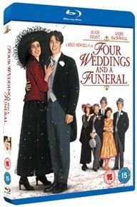 Four Weddings and a Funeral (Blu-ray disc): Hugh Grant, Andie MacDowell, James Fleet, Simon Callow, Charlotte Coleman, John...