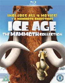 Ice Age 1-4 and Mammoth Christmas: The Mammoth Pack (Blu-ray disc): Ray Romano, John Leguizamo, Denis Leary, Seann William...