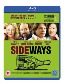 Sideways (English & Foreign language, Blu-ray disc): Paul Giamatti, Thomas Haden Church, Virginia Madsen, Sandra Oh, Marylouise...