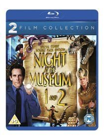 Night at the Museum/Night at the Museum 2 (Blu-ray disc): Ben Stiller, Dick Van Dyke, Mickey Rooney, Jake Cherry, Bill Cobbs,...