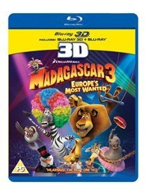 Madagascar 3 - Europe's Most Wanted (Blu-ray disc): Sacha Baron Cohen, Sherri Shepherd, Cedric The Entertainer, Ben...