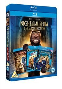 Night at the Museum/Night at the Museum 2/Night at the Museum 3 (Blu-ray disc): Ben Stiller, Jonah Hill, Mickey Rooney, Bill...
