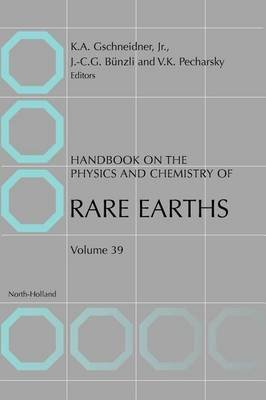 Handbook on the Physics and Chemistry of Rare Earths (Electronic book text): Vitalij K Pecharsky, Karl A. Gschneidner