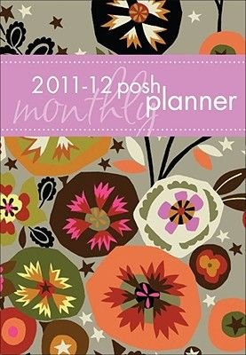 Posh Flowers & Stars 2 Years 2011 Monthly (Calendar): Andrews McMeel Publishing