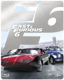 Fast & Furious 6 (Blu-ray disc): Dwayne Johnson, Jason Statham, Vin Diesel, Paul Walker, Michelle Rodriguez, Luke Evans, Elsa...