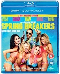 Spring Breakers (Blu-ray disc): James Franco, Selena Gomez, Ashley Benson, Vanessa Hudgens, Rachel Korine, Heather Morris, Cait...