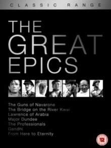The Great Epics (DVD): Gregory Peck, David Niven, Anthony Quinn, Stanley Baker, Anthony Quayle, Alec Guinness, Jack Hawkins,...