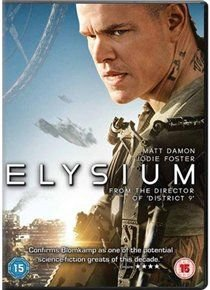 Elysium (English, German, DVD): Matt Damon, Jodie Foster, William Fichtner, Sharlto Copley, Alice Braga, Faran Tahir, Michael...