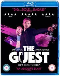 The Guest (Blu-ray disc): Sheila Kelley, Ethan Embry, Maika Monroe, Lance Reddick, Chase Williamson, Dan Stevens, Joel David...