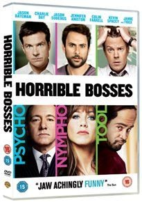 Horrible Bosses (English, French, Italian, DVD): Jennifer Aniston, Jason Bateman, Charlie Day, Jason Sudeikis, Colin Farrell,...