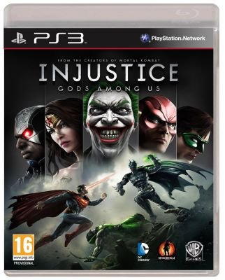 Injustice: Gods Among Us (PlayStation 3, DVD-ROM):