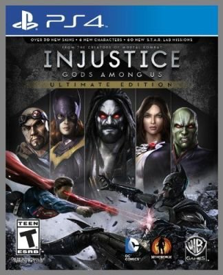 Injustice: Gods Among Us - Ultimate Edition (PlayStation 4):