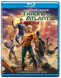 Justice League: Throne of Atlantis (Blu-ray disc): Sam Witwer, Jason O'Mara, Christopher Gorham, Jerry O'Connell,...