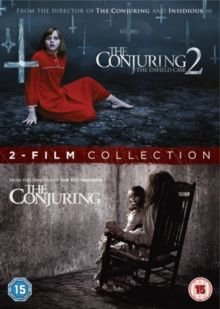 The Conjuring/The Conjuring 2 - The Enfield Case (DVD): Patrick Wilson, Vera Farmiga, Joey King, Ron Livingston, Mackenzie Foy,...