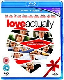 Love Actually (English & Foreign language, Blu-ray disc): Liam Neeson, Rowan Atkinson, Chiwetel Ejiofor, Alan Rickman, Emma...