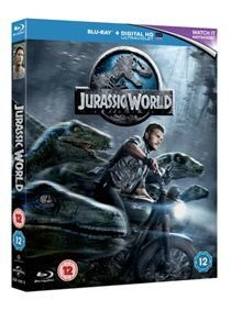 Jurassic World (English & Foreign language, Blu-ray disc): Chris Pratt, Jake Johnson, B. D. Wong, Vincent D'Onofrio, Bryce...