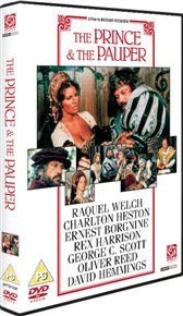 The Prince and the Pauper (DVD): Oliver Reed, Mark Lester, Raquel Welch, Ernest Borgnine, Rex Harrison, George C Scott,...