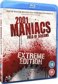 2001 Maniacs: Field of Screams (Blu-ray disc): Bill Moseley, Lin Shaye, Christa Campbell, Nivek Ogre, Andrea Leon, Ahmed Best,...