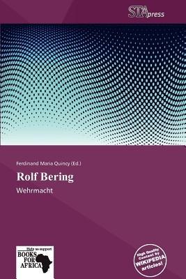 Rolf Bering (Paperback): Ferdinand Maria Quincy