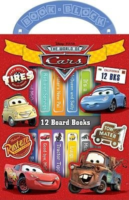 Disney Pixar the World of Cars (Board book): Caleb Burroughs