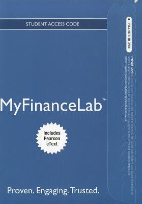New MyFinanceLab with Pearson Etext -- Access Card -- for Principles of Managerial Finance, Brief (Online resource, 6th Revised...