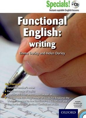 Secondary Specials! +CD: English - Functional English Writing (Paperback): Emma Darley, Helen Darley