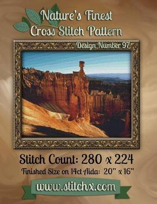 Nature's Finest Cross Stitch Pattern - Design Number 97 (Paperback): Nature Cross Stitch